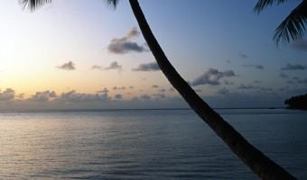 Sunrise In Truk Sunrise | Truk Lagoon, Micronesia